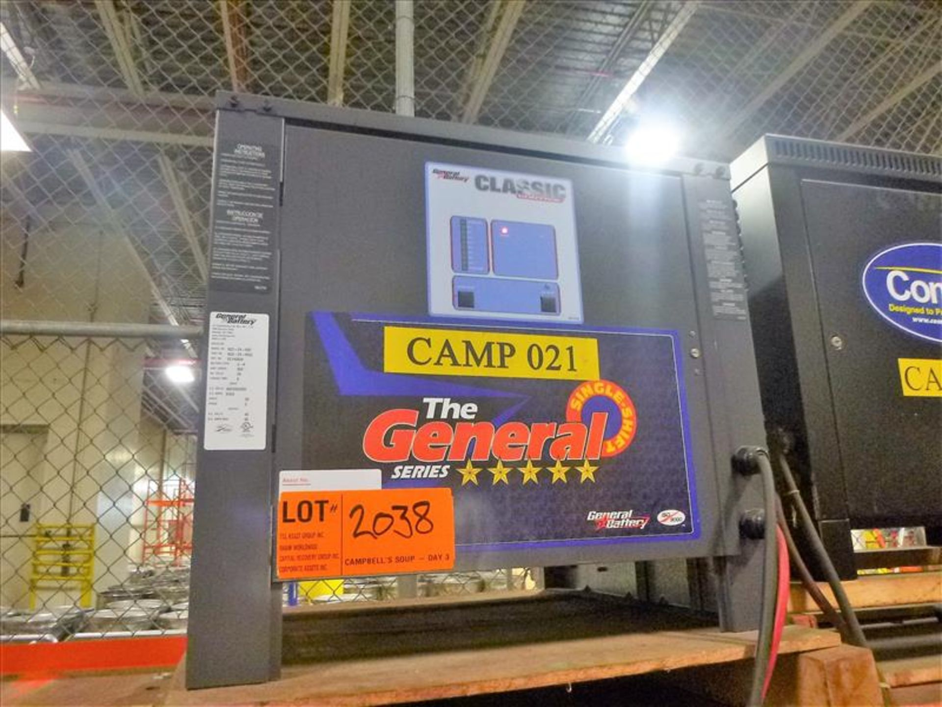 General battery charger, 48V [Material Handling]