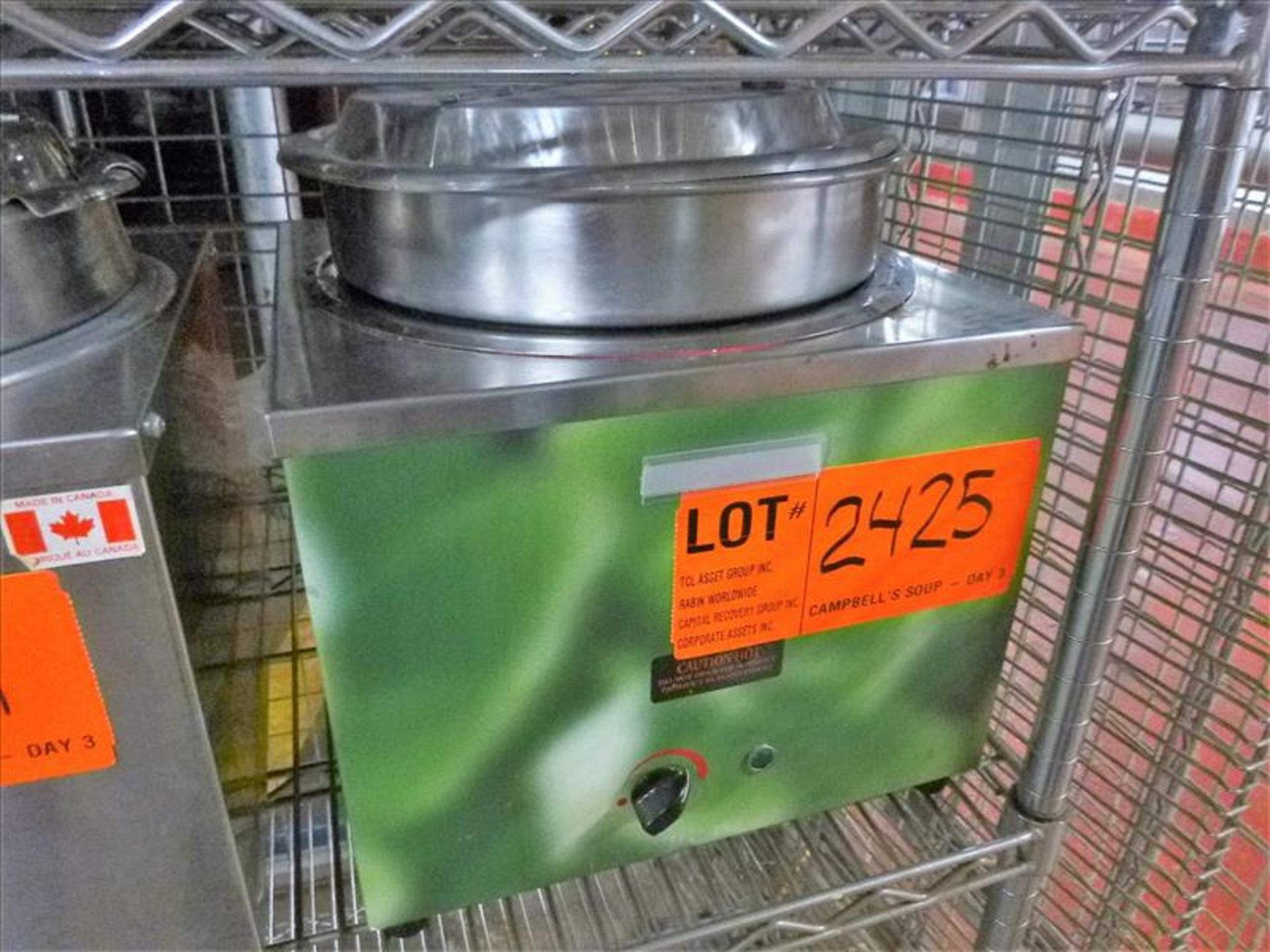 Lot 2425 - Grande Chef electric soup kettle [Kitchen Cage, 1st Floor]