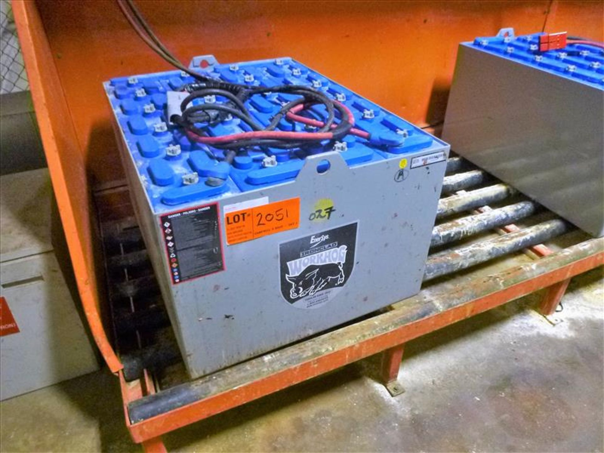 Lot 2051 - EnerSys WorkHog lift truck battery, type E90-19, 48V [Material Handling]