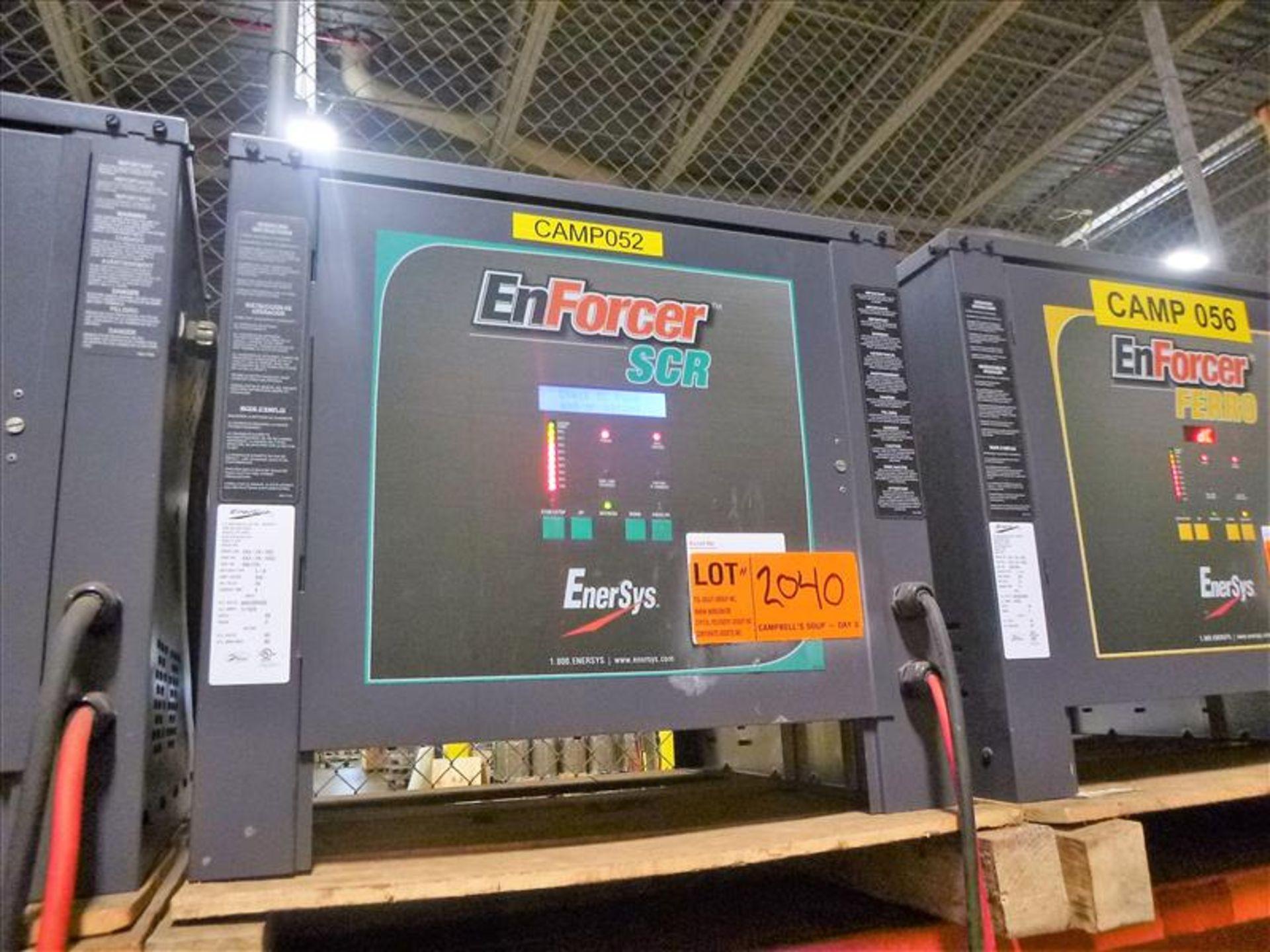 Lot 2040 - Enforcer SCR battery charger, 48V [Material Handling]