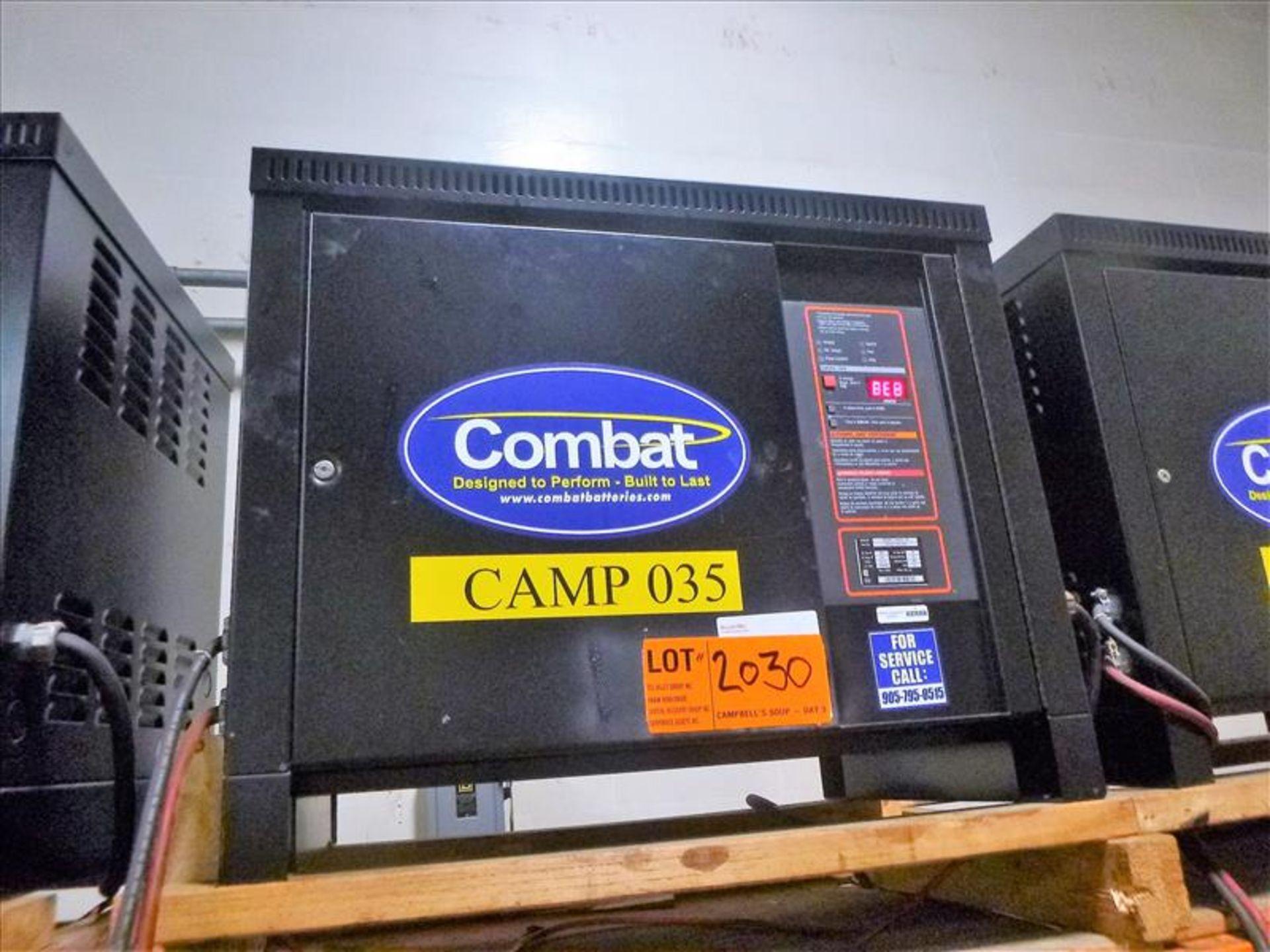 Lot 2030 - Combat battery charger, 48V [Material Handling]