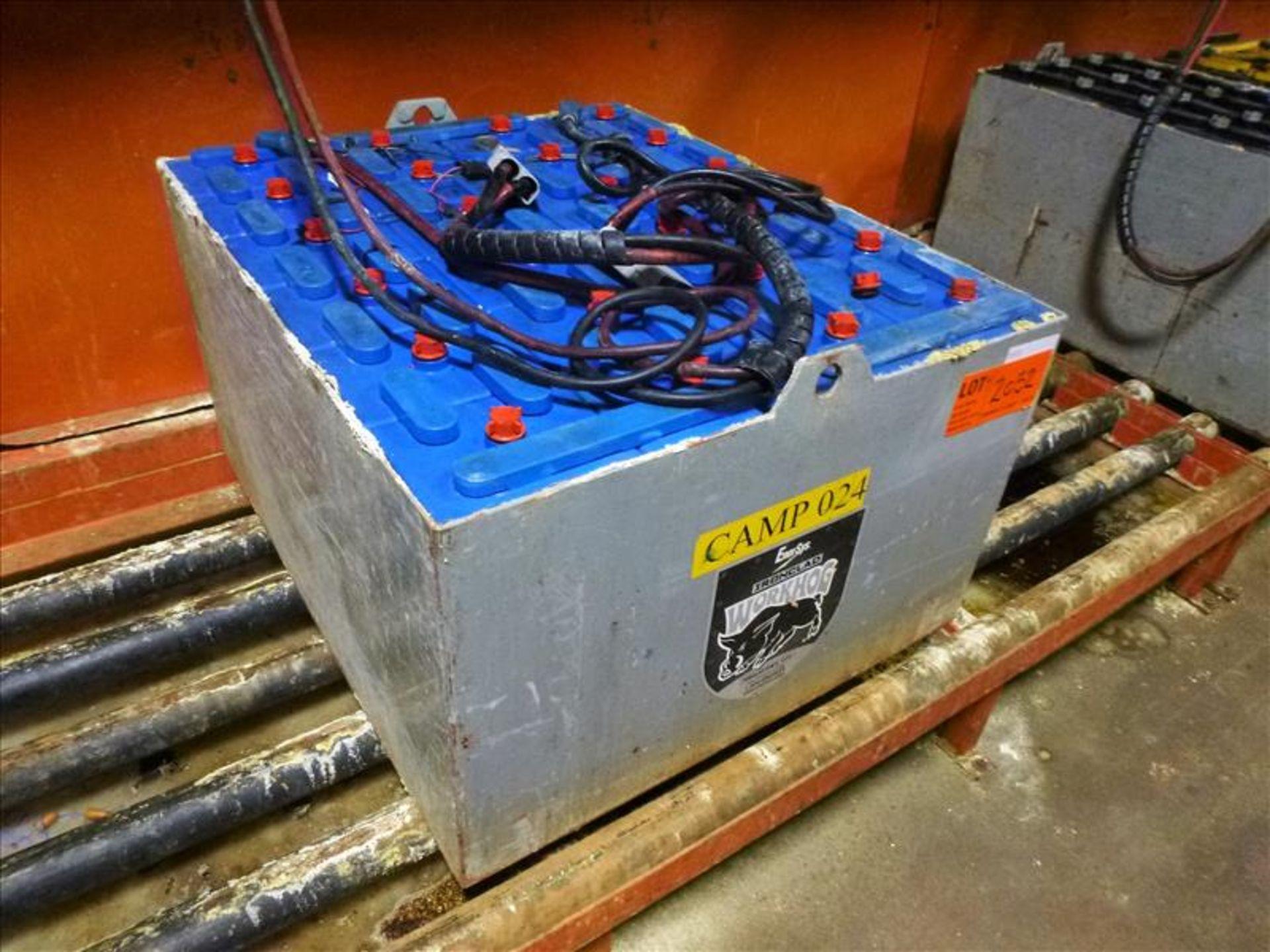 Lot 2052 - EnerSys WorkHog lift truck battery, type E90-19, 48V [Material Handling]