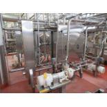 Vertiflo centrifugal pump mod. no. 1420 ser. no. 05-13476-4-1 7.5 / 1765rpm, horizontal end suction,