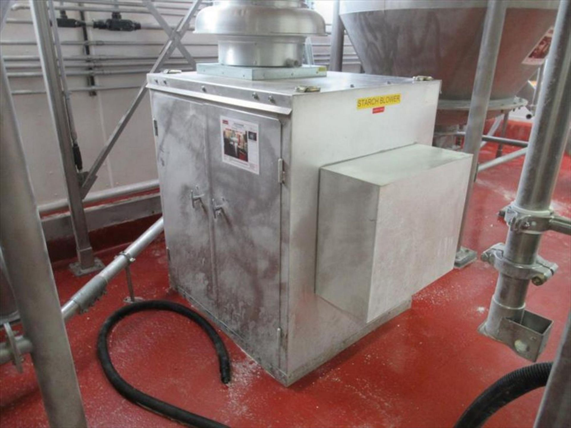 Lot 331 - Dresser Roots vacuum blower mod. no. 404 Ram ser. no. 1204949849 rotary lobe positive blower,