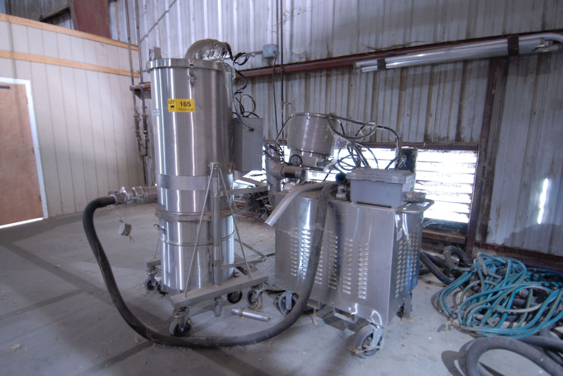 Lot 165 - TIGER-VAC CD-10FX AFS EXPLOSION PROOF VACUUM 11200WATT/15HP/460VOLTB/3PH/17AMPS/60Hz S/N: 10020256