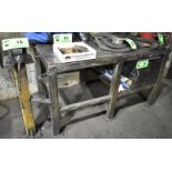 """LOT/ WELD TABLE WITH 6"""" PEDESTAL VISE (DELAYED DELIVERY)"""