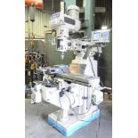 """MAGNUM CUT (2016) 4V VERTICAL TURRET MILLING MACHINE WITH 10""""X54"""" TABLE, SPEEDS TO 3600 RPM"""
