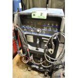 MILLER SYNCHROWAVE 350LX DIGITAL PORTABLE TIG WELDER WITH CABLES AND GUN, 230-460-575V/3PH/60HZ, S/N