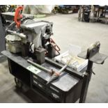 RIDGID 300 POWERED PIPE AND BOLT THREADER WITH DIE HOLDER, REAMER AND CUTTING ATTACHMENTS,