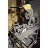 KING HEAVY DUTY BENCH TYPE ABRASIVE CUT OFF SAW WITH CART