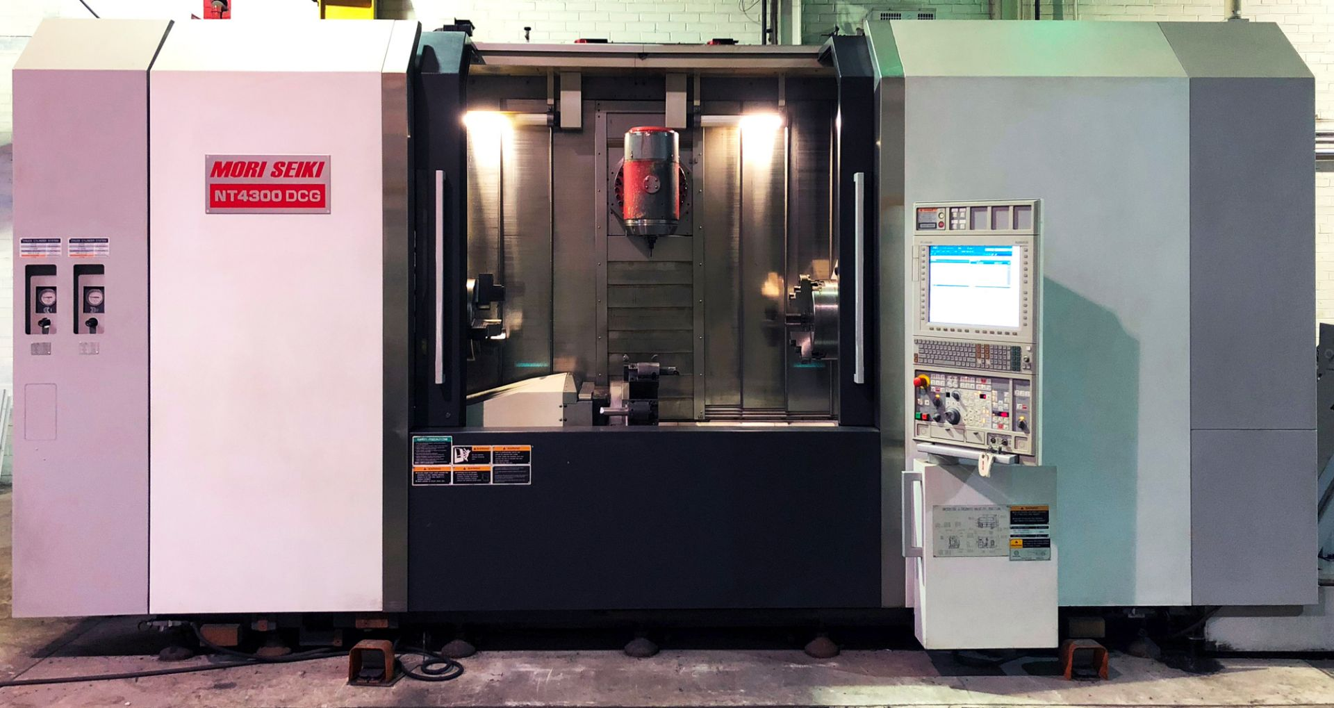 Lot 17 - MORI-SEIKI (2010) NT4300DCG/1500SZ CNC TWIN SPINDLE SIMULTANEOUS 5-AXIS INTEGRATED MILL TURN