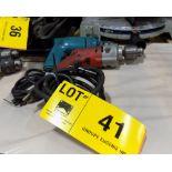 LOT/ (2) ELECTRIC DRILLS