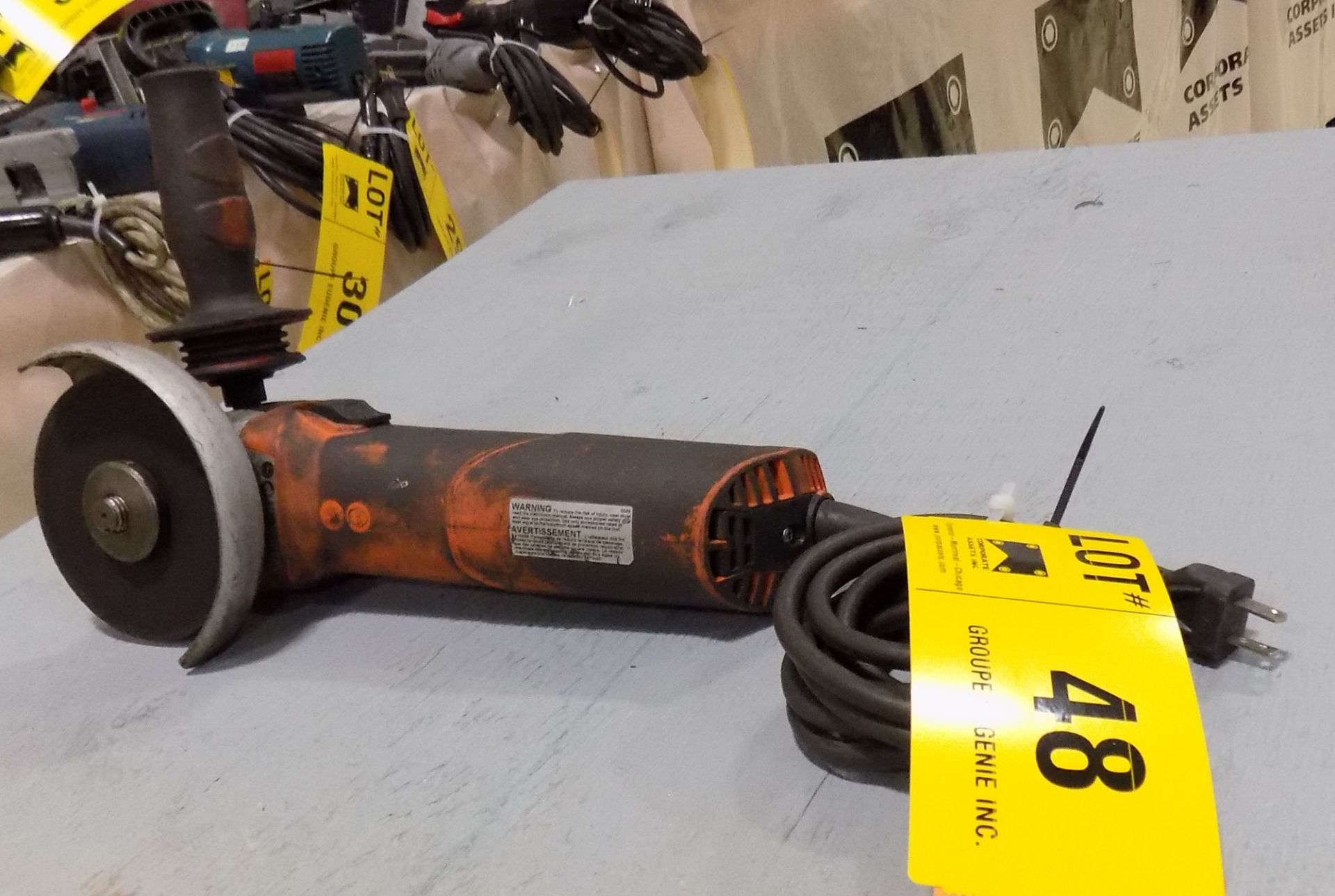 Lot 48 - ELECTRIC ANGLE GRINDER