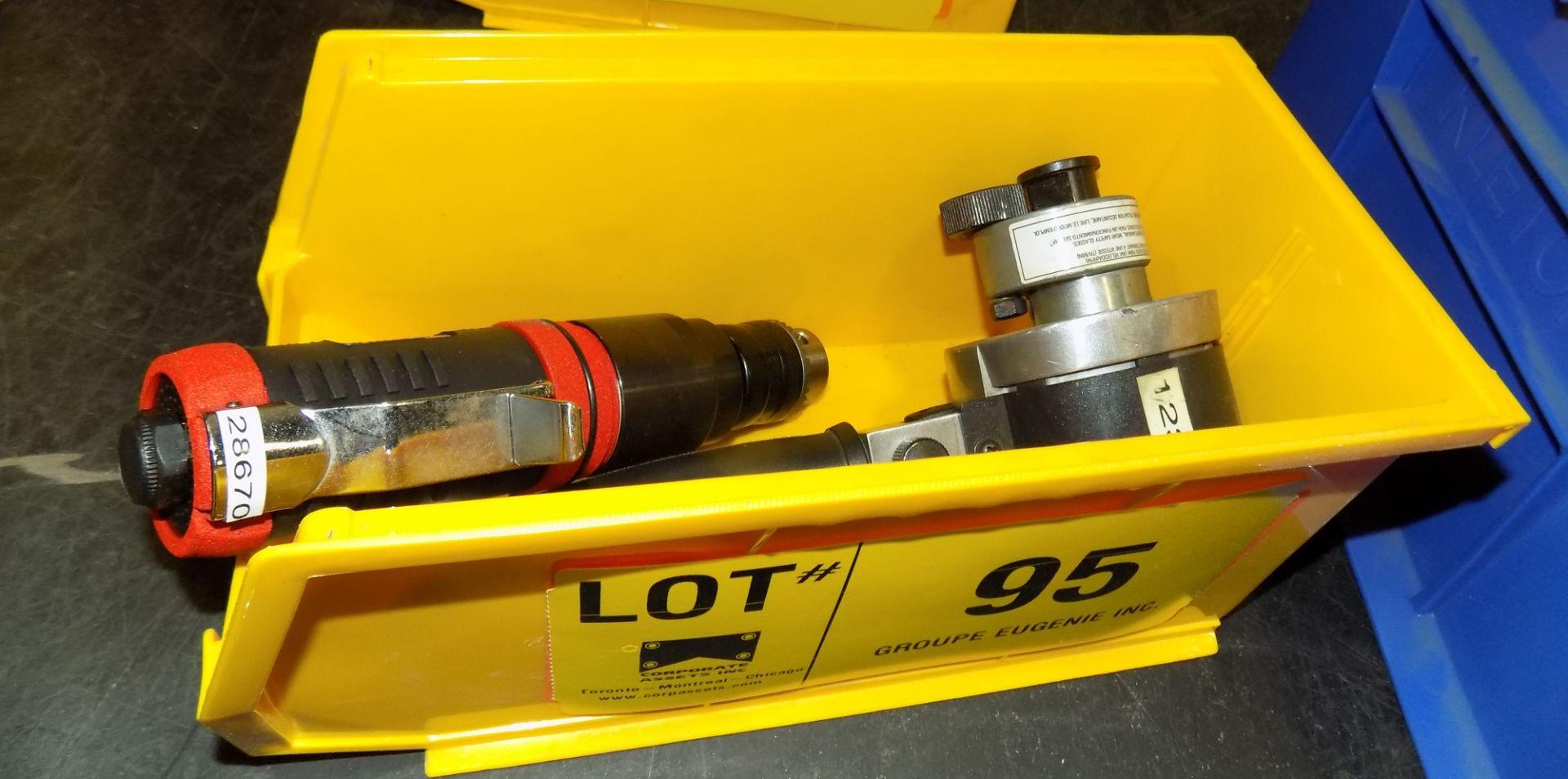 Lot 95 - LOT/ PNEUMATIC TOOLS