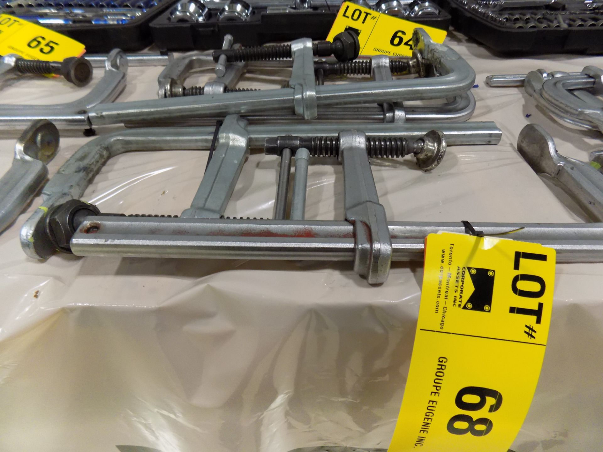 Lot 68 - LOT/ (5) BAR CLAMPS