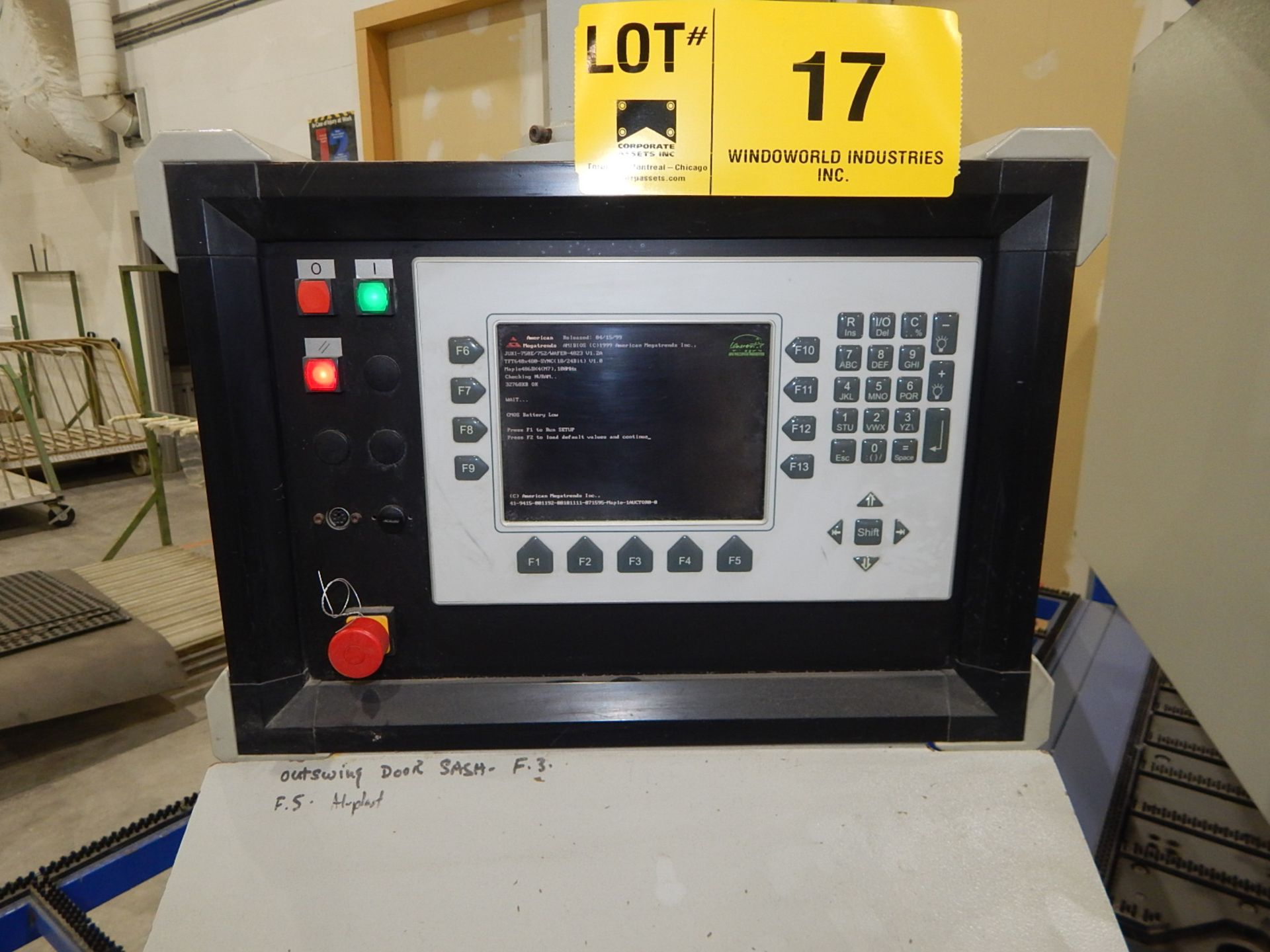 """STURTZ (2003) SE-4AS-TC CNC CORNER CLEANER WITH PC BASED CNC CONTROL, 48""""X65"""" TABLE WITH BRISTLE - Image 2 of 5"""