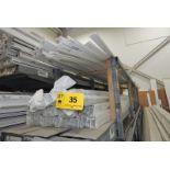 LOT/ REHAU EXTRUDED PVC VARIOUS PROFILES