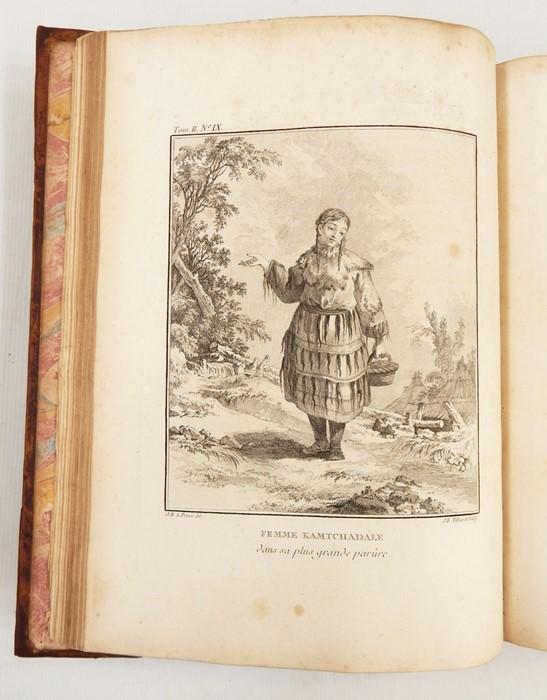 """Lot 49 - Kracheninnikow, M """"Voyage en Siberie, Contenant la Description du Kamtchatka ..."""", vol 2 only,"""