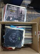Assorted recordsto include Simply Red andclassical recordings Condition ReportSee attached images
