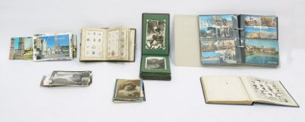 Two albums of crests monograms Coats of Arms, etc, the first inscribed 23rd December 1864, in a