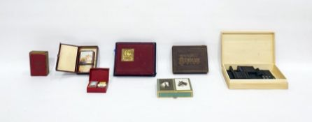 Various sets of playing cardsto include a cased set to commemorate the coronation of Queen