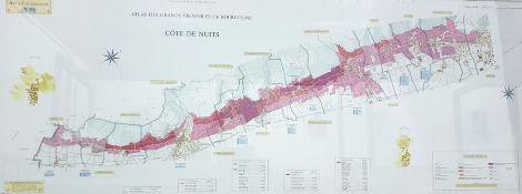 """Two French Colour prints """"Atlas des Frands Vigno"""