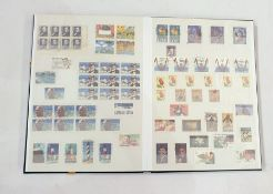 Stock book containing very good collection of early USA, with some high values