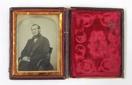 Small Victorian photograph album, portraits. 3 other albums of views and people, 1912 and later, and