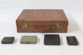A quantity of jewellery boxes, ring boxes and boxes to include Victorian and Edwardian examples,