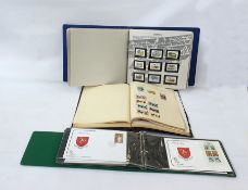Box of eight albums and stock booksof world stamps plus mint decimal British (1 box)