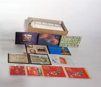 Presentation packsincluding £10 and two different castle with high values to £5, several booklets