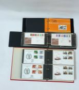 Box of FDC and Stock book of stamp, booklets