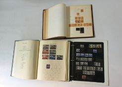 3 albums with very good selection of GB stamps to £1 mainly used, good postage dues to £5