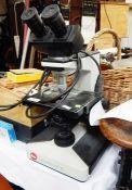 Leitz Laborlux S Zenon electric microscope