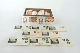 Norfolk Island very interesting duplicated lot of First Day Coversfrom 1960 to 1970, 200 plus