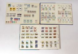 GB mint in 3 albums and display frame 1953 onwards - plenty of postage in the large album (4)