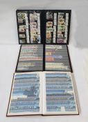 Box of 14 albums and stock booksincluding mint 1946 Victory issue, with many blocks of four, mostly
