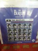 Quantity of vinyl LP's, to include re- issued Beatles albums, Elvis Presley etc. ( 1 box)