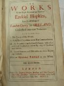Hopkins Ezekiel 'The Works of the Right Reverend and Learned Ezekiel Hopkins, Late Lord Bishop of