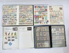 Extensive accumulation of World stamps - mint and used with a good chance of finds ( 1 box)