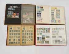 Quantity of stock books and cover albums including First Day Cover and stamps from many countries (1
