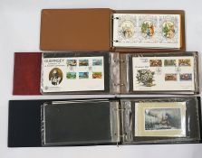 Crate of various covers, albums and loose stamps of the world