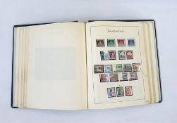 Album of German stampsincluding 1930 mint sheets