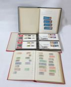 Eight albums of very specialised Queen Elizabeth II booklets, part sheet pairs, all mint plus one