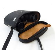Seven pairs of vintage and later binoculars, mainly cased (7) Condition ReportBinoculars to