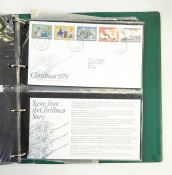 GB mainly FDCs 1960 and Frama sheetlets, good GB stamp collection mint and used in green album,