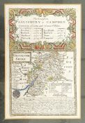 Three maps of Gloucestershire, one of Wiltshire and a smaller one of Gloucestershire (5)
