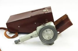 A Karl Zeiss Jena Optical instrument number 2878 in leather carrying case, a Mirador 20 x 50 cm, a