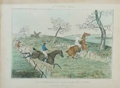 Quantity of sporting prints including partridge, shooting, golfing and other (1 box)