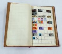 One album with mainly used GB and some Commonwealth stamps including a penny black
